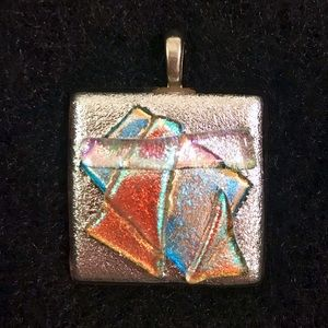 Jewelry - Dichroic Fused Glass Pendant