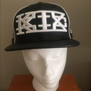 Kokon To Zai Accessories - KTZ (Kokon To Zai) black leather baseball cap