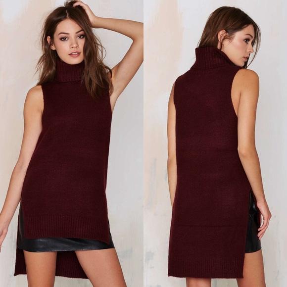 b123b95814908 Anaya Sleeveless Turtleneck Sweater