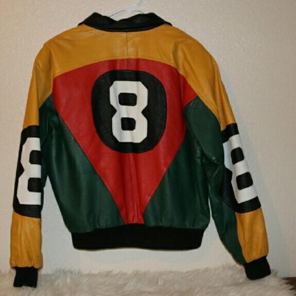 Vintage Jackets Amp Coats 8 Ball 80s Leather Jacket Poshmark