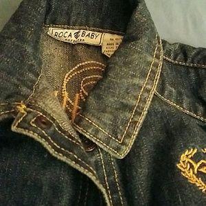 Rocawear Other - 2 piece Rocawear denim suit Navy Blue