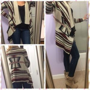i jeans by Buffalo Sweaters - 🎉HOST PICK🎉 Tribal print cardigan