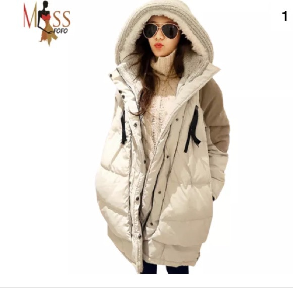 315bd0bd4 Missfofo Quilted Down Puffer Coat Outerwear SZ SM NWT