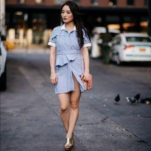 Dresses & Skirts - Sexy striped mini dress
