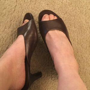 AEROSOLES Shoes - ❤️ AEROSOLES Brown Leather Sandals 7.5❤️