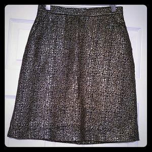 Tucker Dresses & Skirts - 🌟Tucker for Target Black & Metallic Gold Skirt