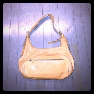 Hogan Handbags - Hogan camel tan leather shoulder bag EUC
