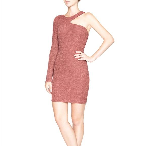 Bcbg Cutout Shoulder Party Bodycon New Years Dress M_5844c726c2845609ce00eb9c