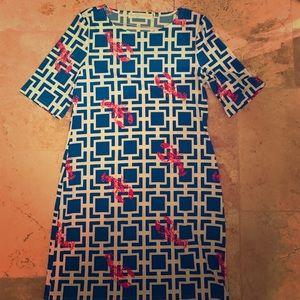 Tracy Negoshian brand new lobster dress