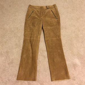 Authentic suede pants