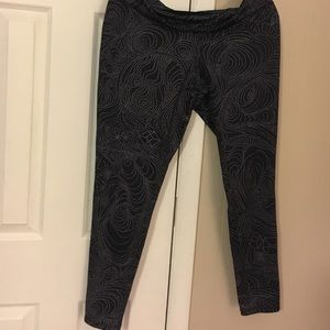 Mossimo Supply Co Pants - Black with white galaxy inspired print leggings