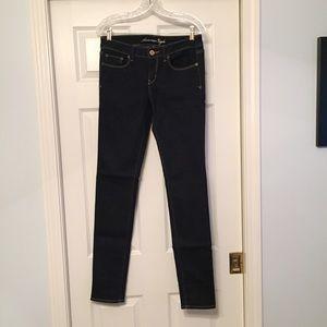 American Eagle Outfitters Denim - REDUCED! American Eagle Dark Denim Skinny Jeans