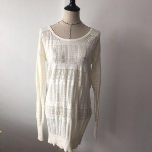 Frenchi Tops - 🎀Cream frenchi knit tunic