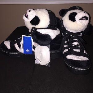 Adidas Js Jeremy Scott Panda Bear