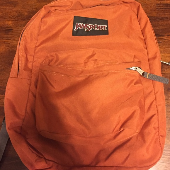 70% off Jansport Handbags - Jansport Backpack-burnt orange from ...