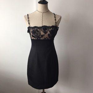 Laundry by Shelli Segal Dresses & Skirts - Laundry by shelli segal black floral lace dresa