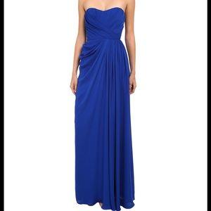 Badgley Mischka Dresses & Skirts - Badgly Mischka Strapless Gown With Slit