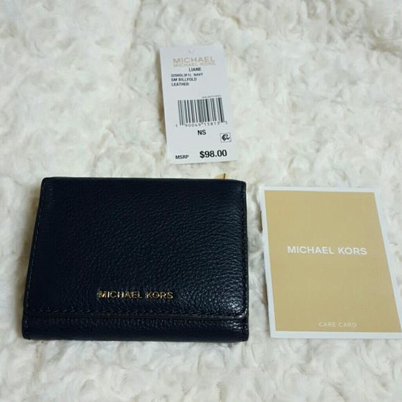 fcd233c1da63 MICHAEL Michael Kors Bags   Michael Kors Liane Sm Billfold Leather ...