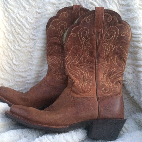 64% off Ariat Shoes - Vintage Ariat Boots from Kate's closet on ...