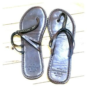 Abercrombie & Fitch sandals New York 9/10