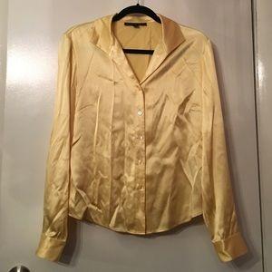 Lafayette 148 New York Tops - Lafayette 148 silk button down blouse