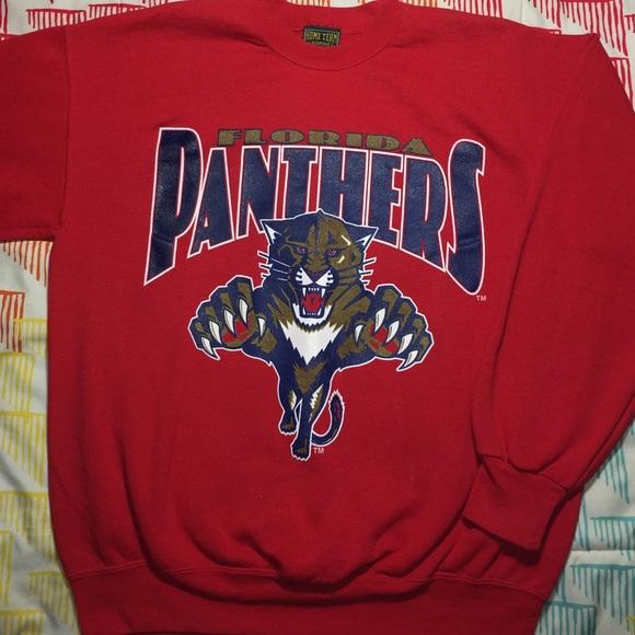 finest selection acf0a 1904e Florida Panthers Vintage NHL Hockey Sweatshirt