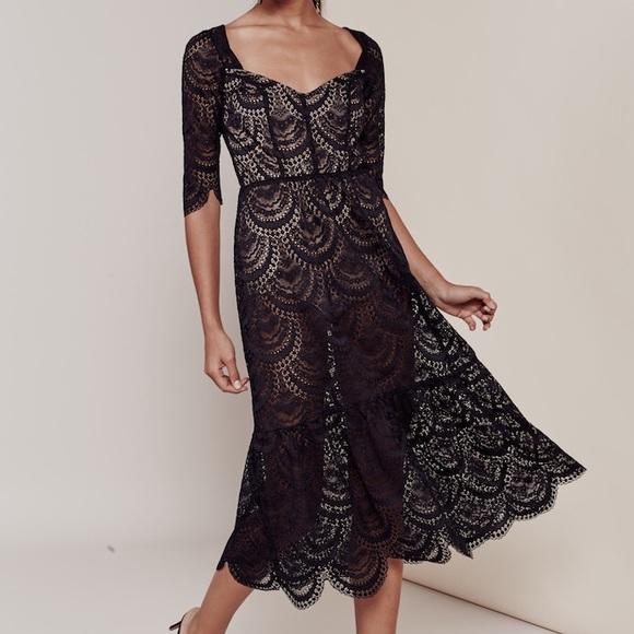 9c0d0c1dc1aec For Love and Lemons Dresses | For Love Lemons Rosalita Midi Dress ...