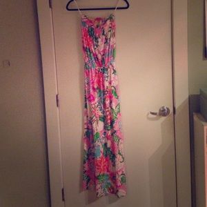 Lilly Pulitzer for Target Dresses & Skirts - EUC lilly pultzer 4 target nosie posey maxi dress