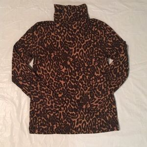 Joe Fresh Tops - SALE!!! Cheetah Print Turtle Neck