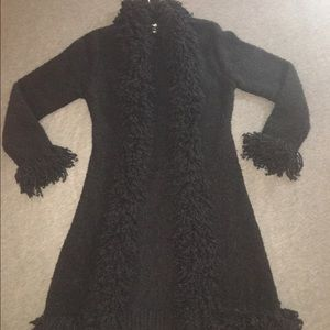 Dolce & Gabbanna - Sm Black Sweater Coat