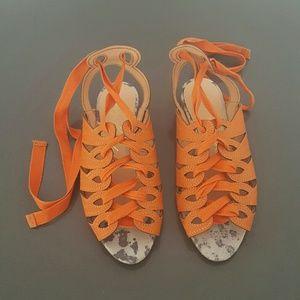 Shoes - Luiza Barcelos lace up sandals