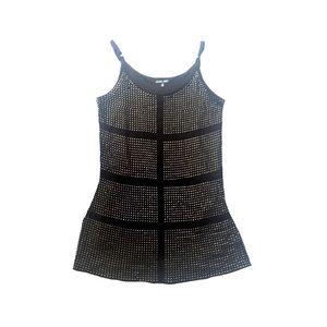 Onzie Dresses & Skirts - Onzie Studded Black Mini Dress