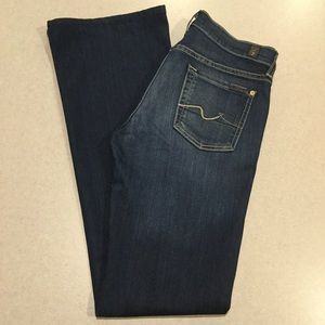 7 For All Mankind Jeans 26X32 Bootcut In Geneva!