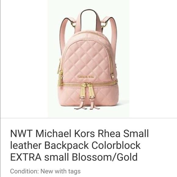 8707c6d62abe Michael Kors Bags | Mini Convertible Backpack | Poshmark