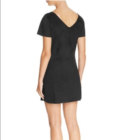 Sanctuary Dresses - NWT Sanctuary Alexia faux suede cut out dress
