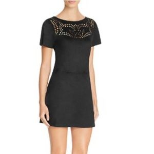 NWT Sanctuary Alexia faux suede cut out dress