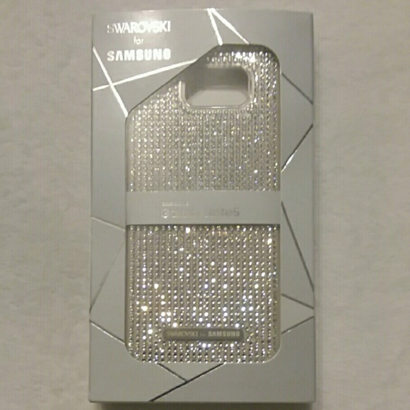 huge selection of d1c15 58592 Samsung Galaxy Note 5 Swarovski crystal case NWT