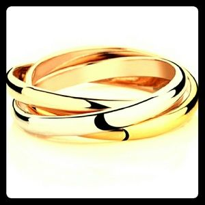 3 Tri-Color Overlapping Rings