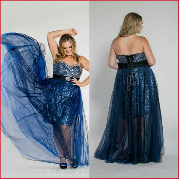 Sydney\'s Closet Plus Size Formal Dress *Firm price