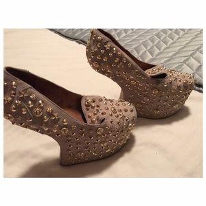 Jeffrey Campbell studded heels