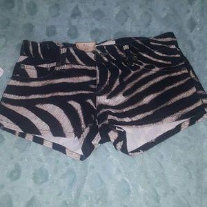 Denim & Supply Ralph Lauren Pants - Zebra Print Shorts by Ralph Lauren