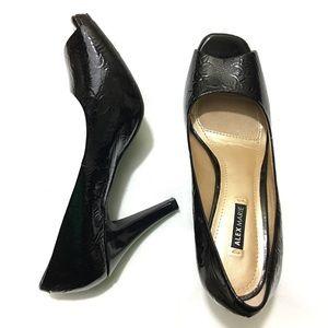 Alex Marie Shoes - Make offer! Black peep toe heels