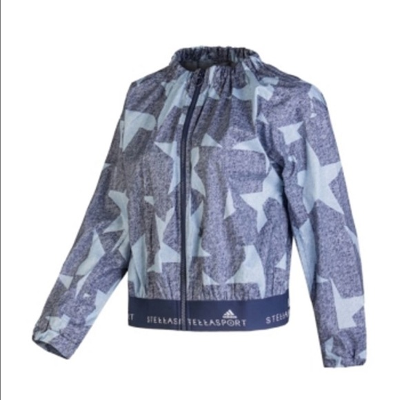 5b44a830818 Adidas by Stella McCartney Jackets   Blazers - 💞Adidas STELLASPORT Star  Graphic Zip Jacket💞