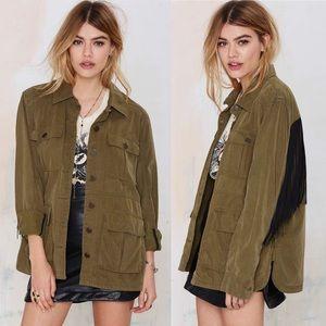 Blank NYC Jackets & Blazers - Blank NYC Monet Fringe Jacket