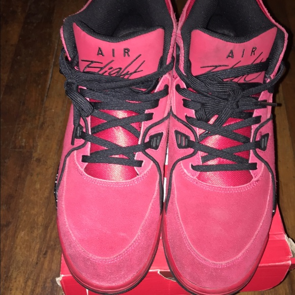 finest selection 94b96 ba8ef Nike Air Flight 89 Toro Red Size 14. M 584510dcf09282023002a07b