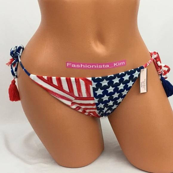 b8f9504f89a26 Victoria's Secret Swim | Victorias Secret Stars Stripes Bikini ...