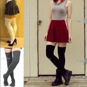 HUE Accessories - Long Knit Over The Knee Thigh High Sock Winter OTK