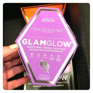 Glamglow gravitymud mask authentic full size