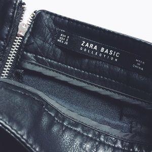 Zara Dresses & Skirts - Zara faux leather skirt.
