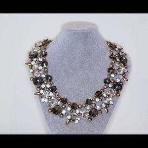 Zara Jewelry - Statement Necklace Gold Black